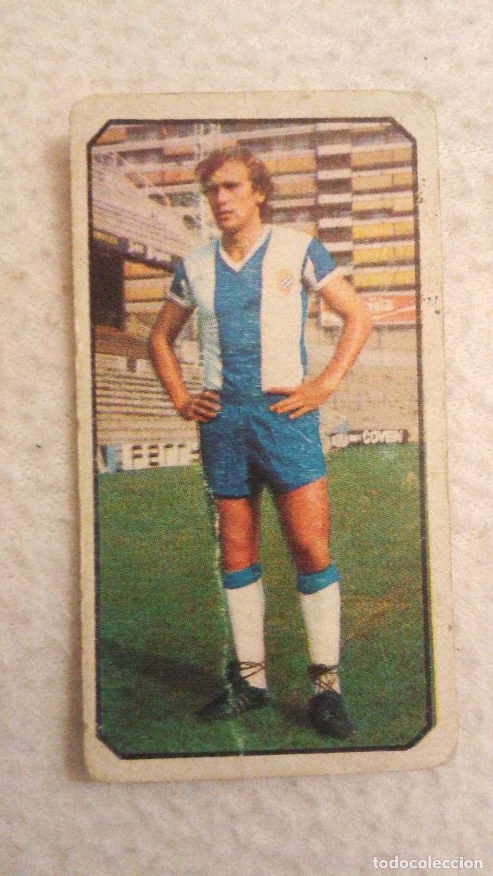 77-78 ESTE. FICHAJE 18 ESPAÑOL FLORES (Coleccionismo Deportivo - Álbumes y Cromos de Deportes - Cromos de Fútbol)