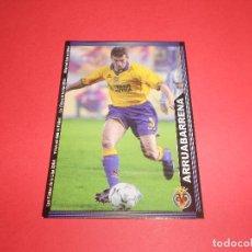 Figurine di Calcio: ARRUABARRENA - 384 - VILLARREAL C.F. - LAS FICHAS DE LA LIGA 2003-2004 (03/04) - MUNDICROMO. Lote 67310481
