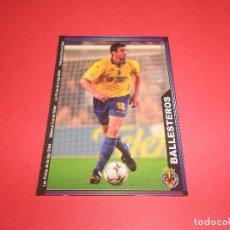 Figurine di Calcio: BALLESTEROS - 386 - VILLARREAL C.F. - LAS FICHAS DE LA LIGA 2003-2004 (03/04) - MUNDICROMO. Lote 175105397