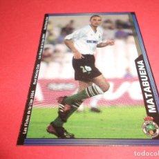 Figurine di Calcio: MATABUENA - 417 - RACING DE SANTANDER - FICHAS DE LA LIGA 2003-2004 (03/04) - MUNDICROMO. Lote 67316849