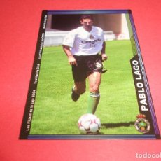 Figurine di Calcio: PABLO LAGO - 419 - RACING DE SANTANDER - FICHAS DE LA LIGA 2003-2004 (03/04) - MUNDICROMO. Lote 67317133