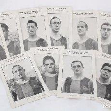 Cromos de Fútbol: CONJUNTO DE 11 CROMOS DE FÚTBOL. CF BARCELONA. CAMPEÓN ESPAÑA 1942 - SERIE A - FALTA 1 CROMO, Nº 12. Lote 67388837
