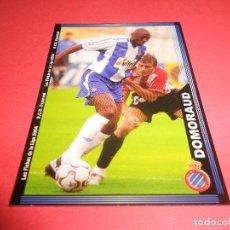 Figurine di Calcio: DOMORAUD - 442 - R.C.D. ESPANYOL - FICHAS DE LA LIGA 2003-2004 (03/04) - MUNDICROMO. Lote 67400825