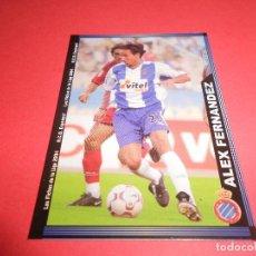 Figurine di Calcio: ALEX FERNANDEZ - 445 - R.C.D. ESPANYOL - FICHAS DE LA LIGA 2003-2004 (03/04) - MUNDICROMO. Lote 67400905
