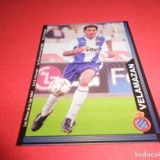 Figurine di Calcio: VELAMAZAN - 448 - R.C.D. ESPANYOL - FICHAS DE LA LIGA 2003-2004 (03/04) - MUNDICROMO. Lote 67400989