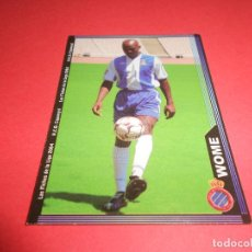 Figurine di Calcio: WOME - 449 - R.C.D. ESPANYOL - FICHAS DE LA LIGA 2003-2004 (03/04) - MUNDICROMO. Lote 67401025