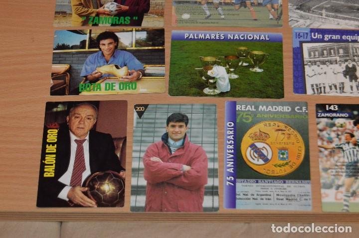 Cromos de Fútbol: LOTE DE 15 CARTAS REAL MADRID - MAGIC BOX INTERNATIONAL - TEMPORADA 79 80 - MIRA LAS FOTOS - Foto 4 - 67543517