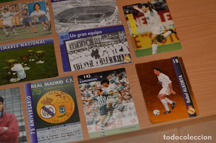 Cromos de Fútbol: LOTE DE 15 CARTAS REAL MADRID - MAGIC BOX INTERNATIONAL - TEMPORADA 79 80 - MIRA LAS FOTOS - Foto 5 - 67543517
