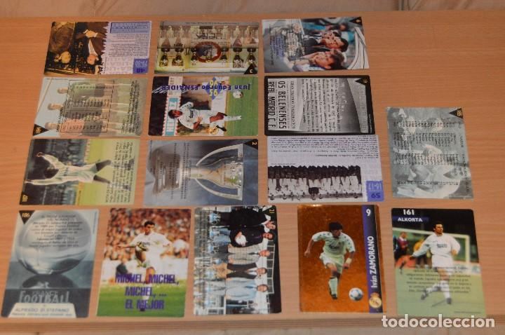 Cromos de Fútbol: LOTE DE 15 CARTAS REAL MADRID - MAGIC BOX INTERNATIONAL - TEMPORADA 79 80 - MIRA LAS FOTOS - Foto 6 - 67543517