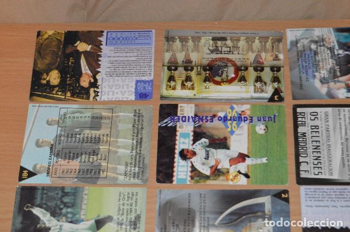 Cromos de Fútbol: LOTE DE 15 CARTAS REAL MADRID - MAGIC BOX INTERNATIONAL - TEMPORADA 79 80 - MIRA LAS FOTOS - Foto 7 - 67543517