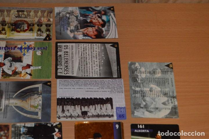 Cromos de Fútbol: LOTE DE 15 CARTAS REAL MADRID - MAGIC BOX INTERNATIONAL - TEMPORADA 79 80 - MIRA LAS FOTOS - Foto 10 - 67543517