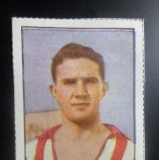 Cromos de Fútbol: 48 MANUEL MEANA (SPORTING GIJON) LOS ASES INTERNACIONALES DE FUTBOL 1954,REVISTA TRAMPOLIN. Lote 67702881