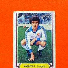 Cromos de Fútbol: ZARAGOZA - MODESTO - EDICIONES ESTE - LIGA 1980-1981, 80-81. Lote 67750153