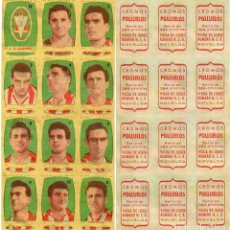Cromos de Fútbol: LOGROÑES 2º DIVISION, DE CONDIMENTOS LOS POLLUELOS, 1954-55,. Lote 68140629