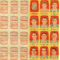 Cromos de Fútbol: JEREZ 2º DIVISION, DE CONDIMENTOS LOS POLLUELOS, 1954-55.. Lote 68143357