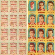 Cromos de Fútbol: GRANADA 2º DIVISION, DE CONDIMENTOS LOS POLLUELOS 1954-55.. Lote 68143793
