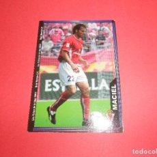 Figurine di Calcio: MACIEL - 465 - REAL MURCIA C.F. - FICHAS DE LA LIGA 2003-2004 (03/04) - MUNDICROMO. Lote 68144613