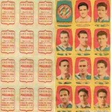Cromos de Fútbol: ESPAÑA INDUSTRIAL 2º DIVISION, DE CONDIMENTOS LOS POLLUELOS 1954-55.. Lote 68144825