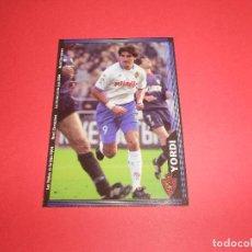 Figurine di Calcio: YORDI - 497 - REAL ZARAGOZA - FICHAS DE LA LIGA 2003-2004 (03/04) - MUNDICROMO. Lote 68160901