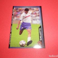 Figurine di Calcio: GALLETTI - 505 - REAL ZARAGOZA - FICHAS DE LA LIGA 2003-2004 (03/04) - MUNDICROMO. Lote 68161889