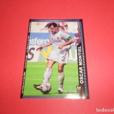 Figurine di Calcio: OSCAR MONTIEL - 522 - ALBACETE BALOMPIE - FICHAS DE LA LIGA 2003-2004 (03/04) - MUNDICROMO. Lote 68166329