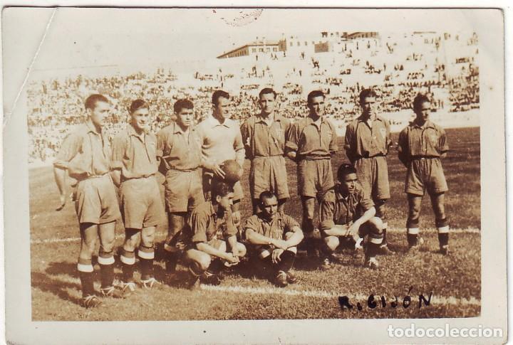 FOTOGRAFÍA DEL SPORTIN DE GIJÓN AÑOS 1940 (Coleccionismo Deportivo - Álbumes y Cromos de Deportes - Cromos de Fútbol)
