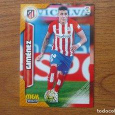 Cromos de Fútbol: MEGACRACKS 2016 2017 PANINI Nº 60 GIMENEZ (ATLETICO MADRID) - MGK LIGA 16 17. Lote 77589483