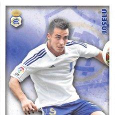 Cromos de Fútbol: MUNDICROMO 2015 PLATINUM #832 JOSELU (R.C. RECREATIVO). Lote 68779990