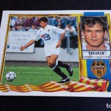 Cromos de Fútbol: ESTE 95/96 1995/1996 - ESKURZA ( COLOCA ) - VALENCIA CF - ( NUNCA PEGADO ). Lote 69113417