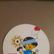 Cromos de Fútbol: PEGATINA SELECCION DE FUTBOL URUGUAYA . Lote 69276091