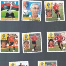 Cromos de Fútbol: 8983- 8 CROMOS LIGA ESTE 1992-93/92-93- C.A OSASUNA. Lote 69383665