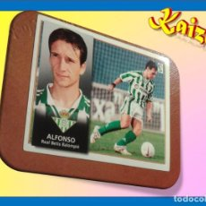 Cromos de Fútbol: ALFONSO. BETIS. SIN PEGAR. EDICIONES ESTE. LIGA 1998/99. 98/99. Lote 194233962