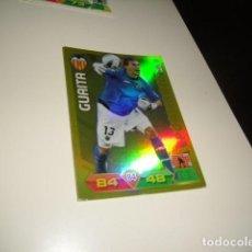 Cromos de Fútbol: FICHA CROMO PANINI ADRENALYN 2011 2012 11 12 GUAITA VALENCIA PORTERAZO . Lote 69649153