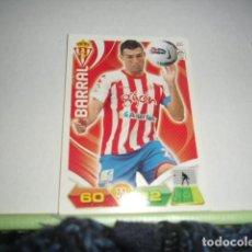 Cromos de Fútbol: FICHA CROMO PANINI ADRENALYN 2011 2012 11 12 SPORTING GIJON BARRAL . Lote 69649937