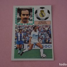 Cromos de Fútbol: CROMO DE FÚTBOL:STIELIKE DEL REAL MADRID C.F.,(DESPEGADO),LIGA ESTE 1983-1984/83-84. Lote 148245680