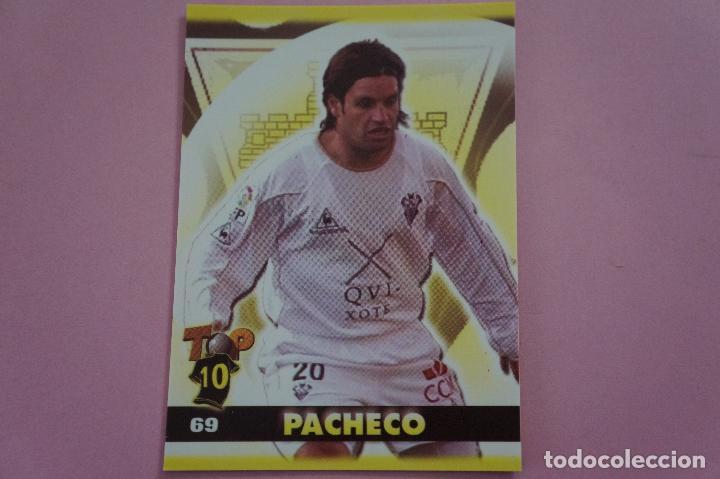 CROMO CARD DE FÚTBOL:PACHECO DEL ALBACETE BALOMPIÉ,(MATE),Nº 69,LIGA TOP 2005,DE MUNDICROMO (Coleccionismo Deportivo - Álbumes y Cromos de Deportes - Cromos de Fútbol)