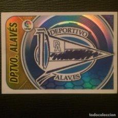 Cromos de Fútbol: LIGA ESTE 2016/17 - ALAVES - ESCUDO - NUM 1. Lote 70316657