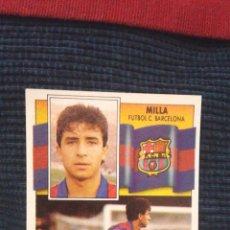 Cromos de Fútbol: 90-91 ESTE. NUNCA PEGADO BAJA BARCELONA MILLA. Lote 70398349