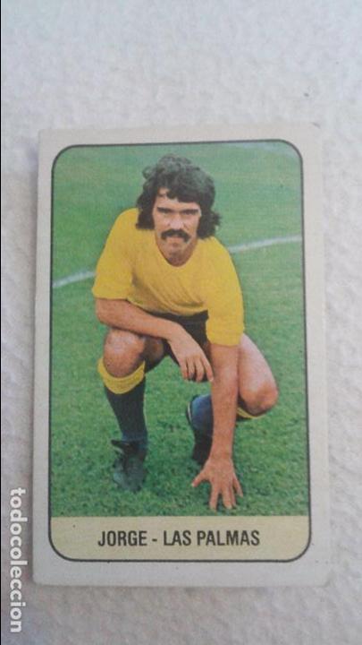 78/79 ESTE. LAS PALMAS JORGE (Coleccionismo Deportivo - Álbumes y Cromos de Deportes - Cromos de Fútbol)