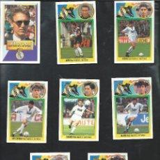 Cromos de Fútbol: 8510- 8 CROMOS LIGA ESTE 1993-94/93-94- REAL MADRID. Lote 71261327