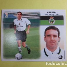 Cromos de Fútbol: ESPINA FICHAJE FICHAJES NUMERO 7 LIGA ESTE 1999 2000 99 00 CROMO NUEVO . Lote 71456431