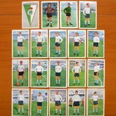 Cromos de Fútbol: RACING DE SANTANDER - EDITORIAL FERCA 1960-1961, 60-61 - 19 CROMOS, COMPLETO, TODOS LOS PUBLICADOS. Lote 71470751