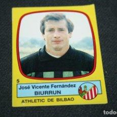 Cromos de Fútbol: CROMO FUTBOL 89 PANINI Nº5 BIURRUN ATHLETIC RECUPERADO. Lote 71472607