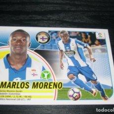 Cromos de Fútbol: -ESTE 16-17 : FICHAJE - 45 - MARLOS MORENO ( CORUÑA ) . Lote 71495987