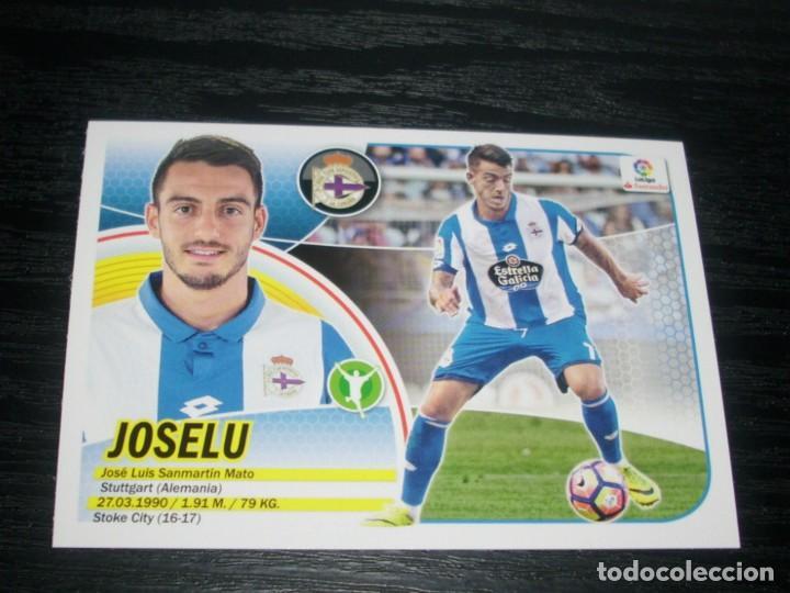 -ESTE 16-17 : JOSELU ( CORUÑA ) -- COLOCA -- (Coleccionismo Deportivo - Álbumes y Cromos de Deportes - Cromos de Fútbol)