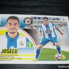 Cromos de Fútbol: -ESTE 16-17 : JOSELU ( CORUÑA ) -- COLOCA --. Lote 71553903