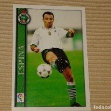 Cromos de Fútbol: CROMO FÚTBOL COLECCIÓN MUNDICROMO 2000-2001 00 01 RACING SANTANDER Nº 308 ESPINA. Lote 71750467