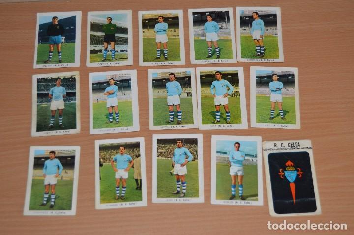 LOTE DE 15 CROMOS - FHER - LIGA 70/71 - MIRA LAS FOTOS - R. C. CELTA (Coleccionismo Deportivo - Álbumes y Cromos de Deportes - Cromos de Fútbol)