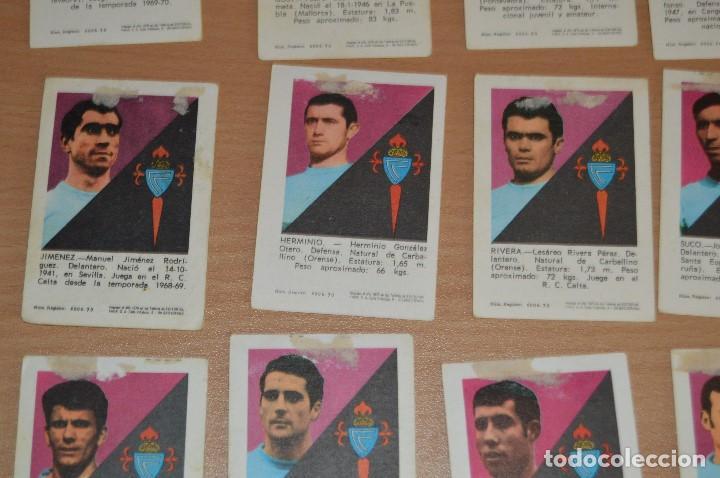 Cromos de Fútbol: LOTE DE 15 CROMOS - FHER - LIGA 70/71 - MIRA LAS FOTOS - R. C. CELTA - Foto 10 - 72116243