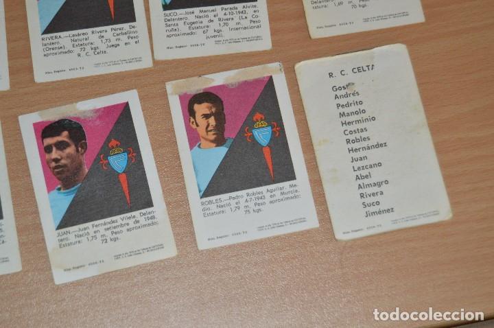 Cromos de Fútbol: LOTE DE 15 CROMOS - FHER - LIGA 70/71 - MIRA LAS FOTOS - R. C. CELTA - Foto 12 - 72116243